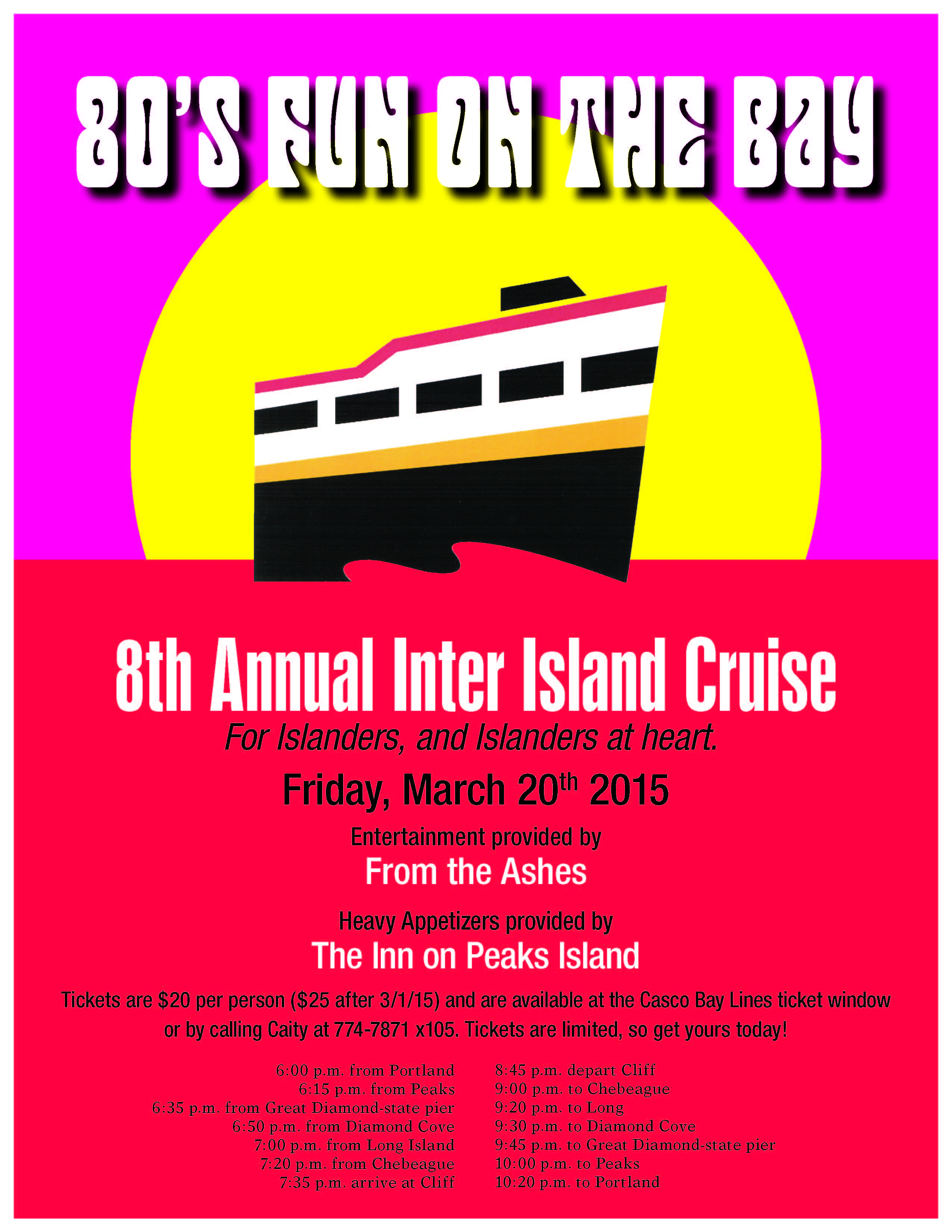 Great Diamond Island Ferry Schedule