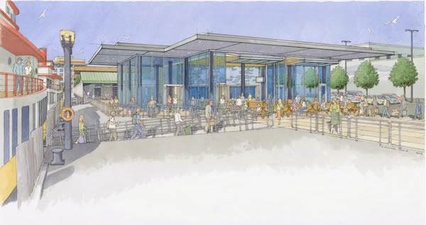 Terminal Renovation Project Rendering