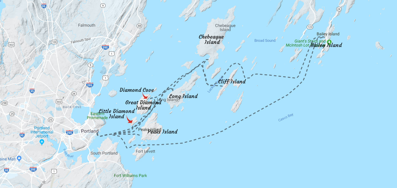 Casco Bay Island - Six islands that Casco Bay Lines services to