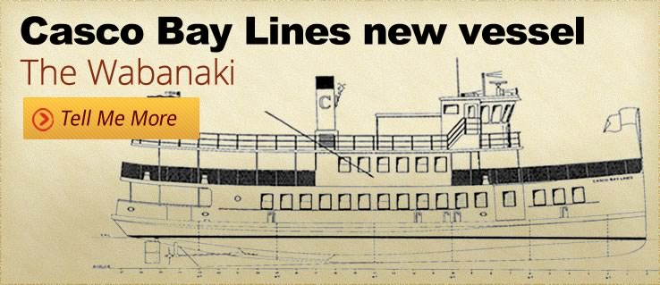Casco Bay Lines' new vessel, The Wabanaki